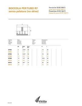 Caura za termoplasticno crevo dn6 (CAURA TP6- B7R04)