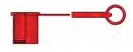 """Slika Gumeni štitnik za mušku hidrauličnu ravnozaptivajuću spojnicu G1/2"""""""