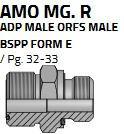 AMO14MG08R (1.3/16-G1/2)