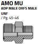 AMO15MU16 (1.7/16-1.5/16)