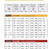 """TSER616- EVEREST 6000 DN25 (1"""") 420 BAR"""
