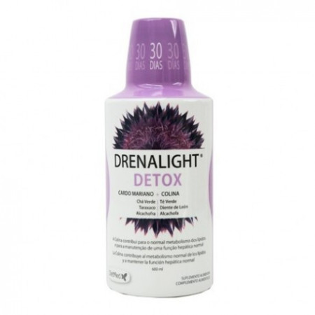 Detoxifiere naturala a ficatului - Drenalight - Detox - detoxifiant puternic si eficient