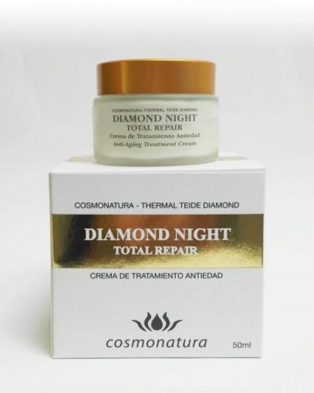 Diamond crema faciala, de noapte, cosmonatura, cu argila, serotonina, gel de aloe vera, 50 ml