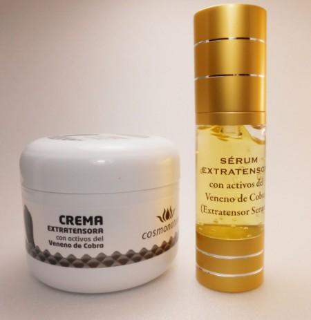 Ser facial + crema cu venin de sarpe (cobra) - in limita stocului disponibil