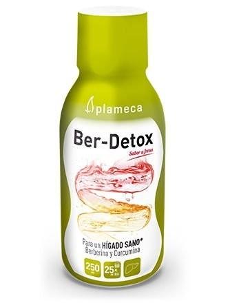 Ber-Detox, depurativ hepatic, colina, berberina si curcumina, 250 ml
