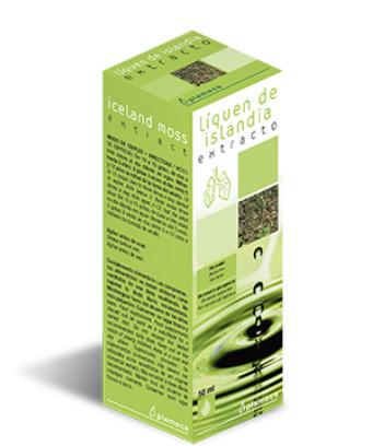 Extract de lichen de Islanda, prevenirea afectiunilor pulmonare, fara alcool, fara glucogen, 50ml