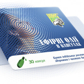 Uleiuri esentiale pentru inhalatii, camfor, eucalipt, timol, 10 capsule - 280 mg