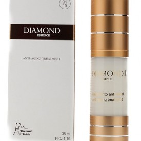 Diamond essence gel, facial, cosmonatura, aloe vera, colagen, acid hialuronic, elastina, coenzima Q10, 35ml