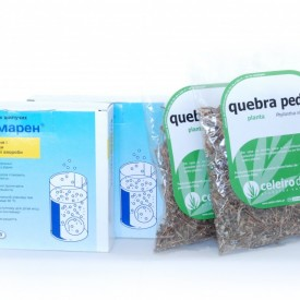 Blemaren N + quebra pedra, chanca piedra, (stonebreaker) - pachet pentru detoxifierea organismului - in limita stocului disponibil