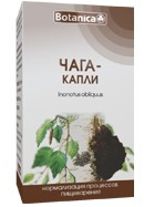 Chaga - ciuperca de mesteacan (Inonotus obliquus) - picaturi 50ml
