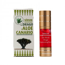 Ser facial, cosmonatura, cu extract de drago, gel de aloe vera, regenerator,  30 ml