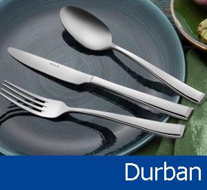 Tacâmuri de inox Durban