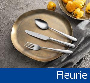 Tacâmuri de inox Fleurie