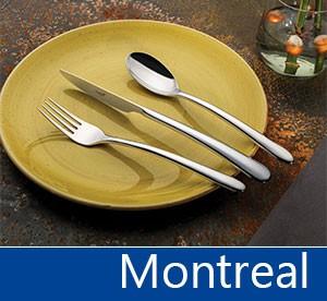 Tacâmuri de inox Montreal