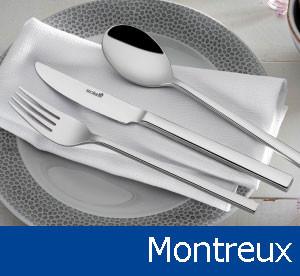 Tacâmuri de inox Montreux