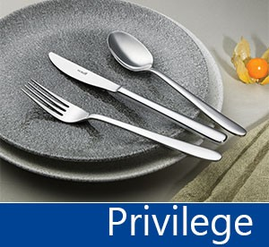 Tacâmuri de inox Privilege