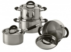 SET OALE DE INOX FLAMENCO MARE