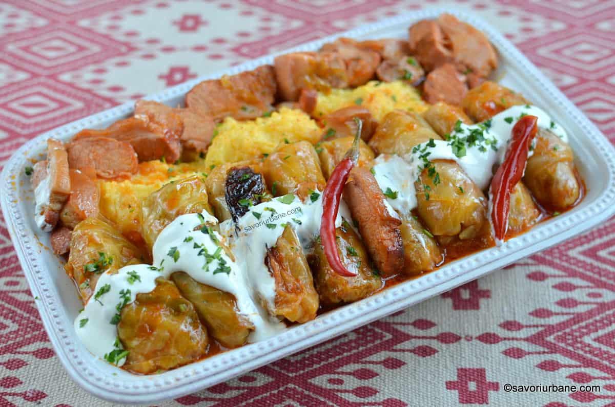 Un Craciun delicios! Sarmale traditionale romanesti!
