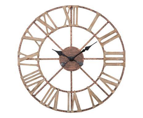 Ceas de perete Plus din fier și MDF poza chilipirul-zilei.ro