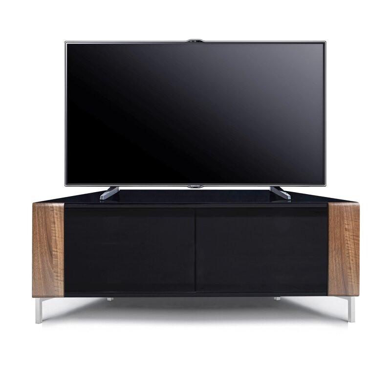 Comodă TV 50  Stickley din PAL, negru, 120cm W x 45cm H x 47cm D