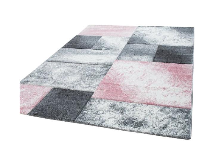Covor Eliam roz / gri, 80 x 150 cm poza chilipirul-zilei.ro