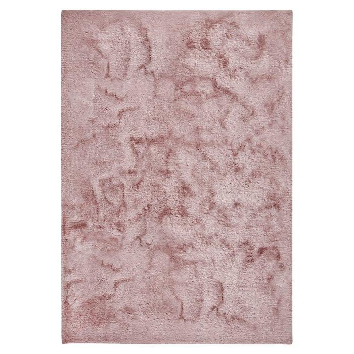 Covor Lottie, roz, 160 x 230 cm