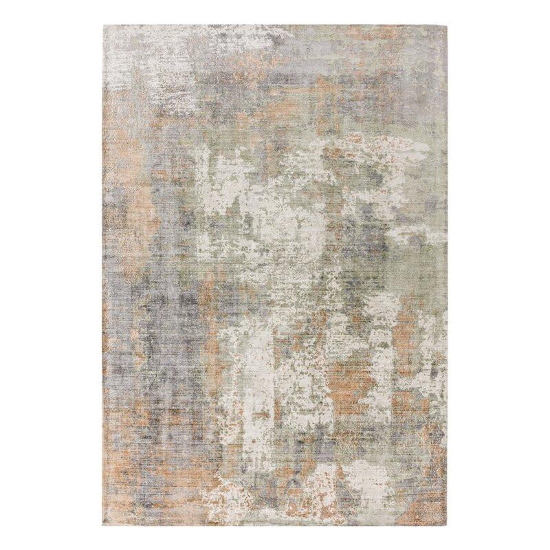 Covor Midhurst verde / coral, 240 x 340 cm