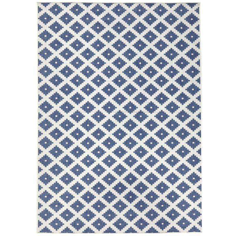 Covor Nizza albastru 200 x 290 cm