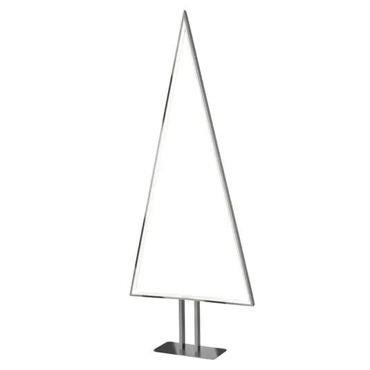 Lampadar, LED, aluminiu, 40 x 100 x 10 cm, 6w image0