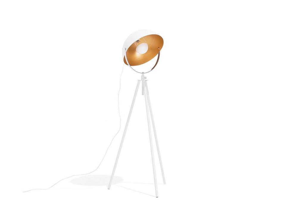 Lampadar Thames, metal, alb/auriu, 170 x 60 x 60 cm, 40w image0