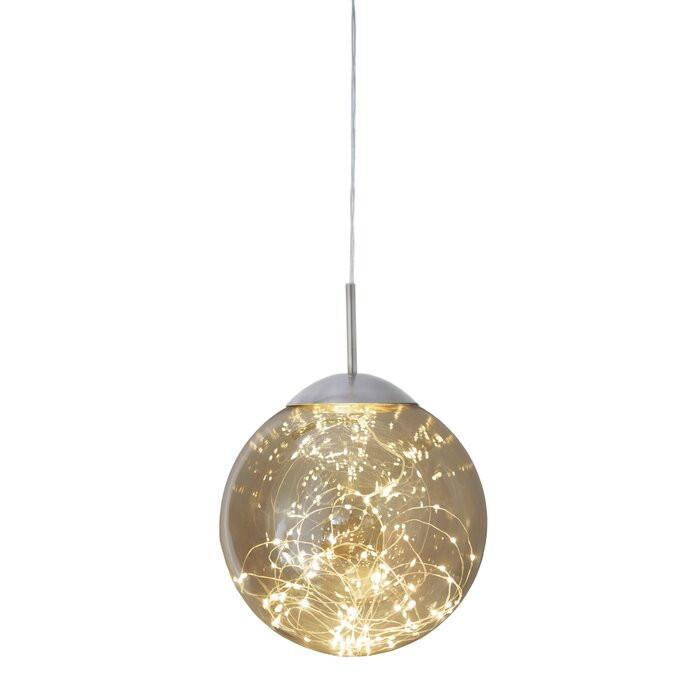 Lustra tip pendul, cu LED, 25 x 25 x 25 cm chilipirul-zilei.ro