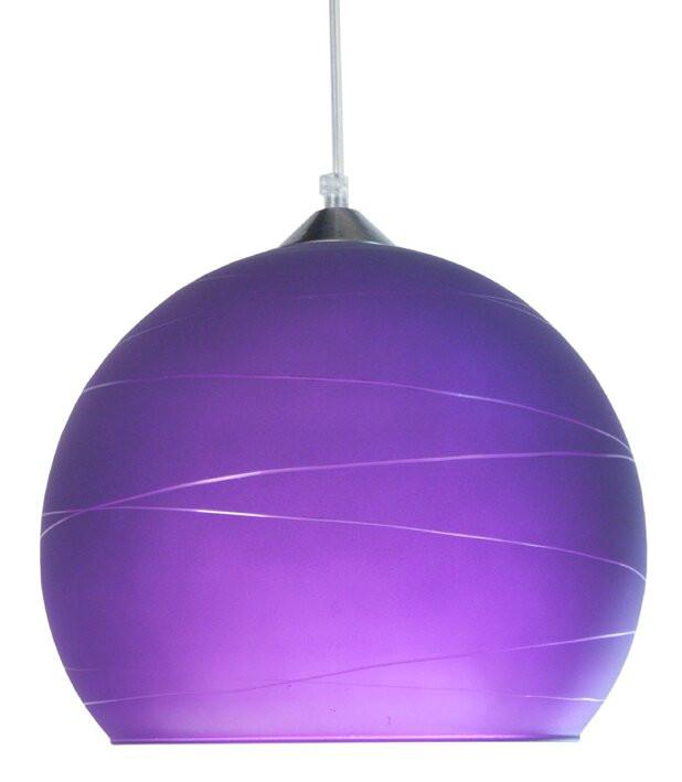 Lustră tip pendul Jonathan, violet, 100cm H x 30cm W x 30cm D chilipirul-zilei 2021