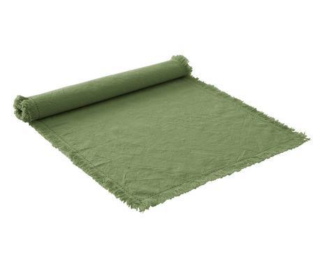 Napron Hilma din bumbac, verde chilipirul-zilei.ro