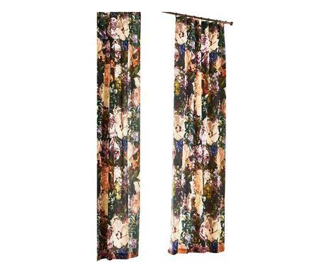 O perdea Flori, 115x220 cm