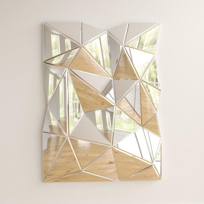 Oglinda de perete, 120 x 80 x 10 cm