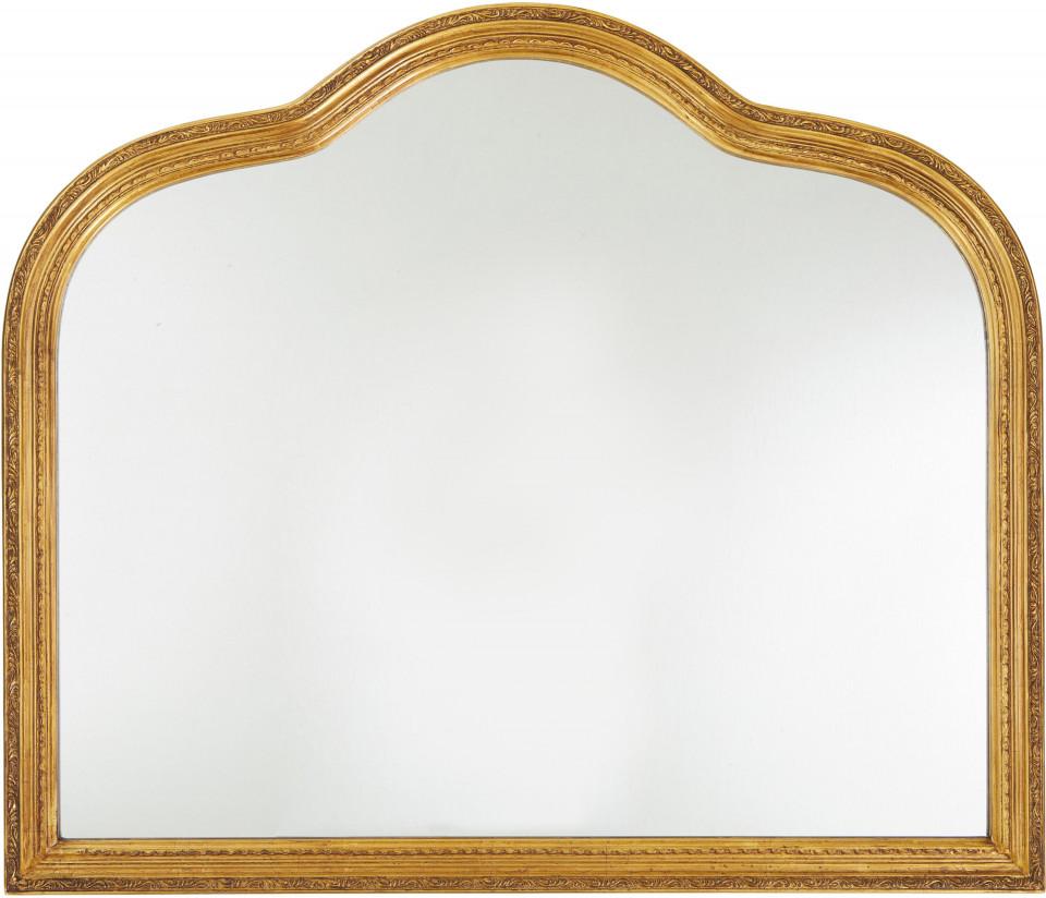 Oglinda de perete Muriel, aur, 90 x 77 x 2,5 cm chilipirul-zilei.ro