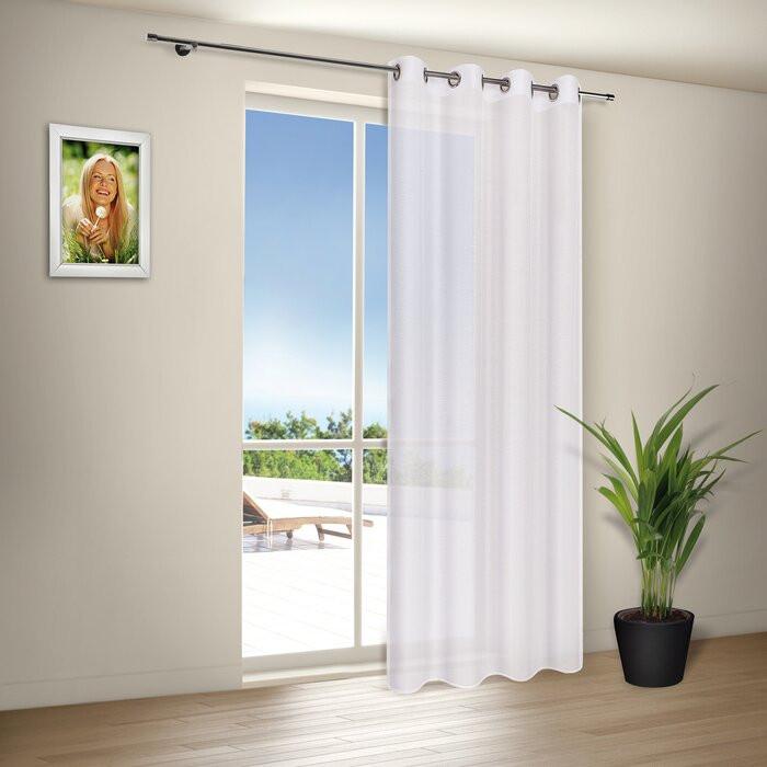 Perdea semi-transparentă, 140 x 235 cm chilipirul-zilei.ro