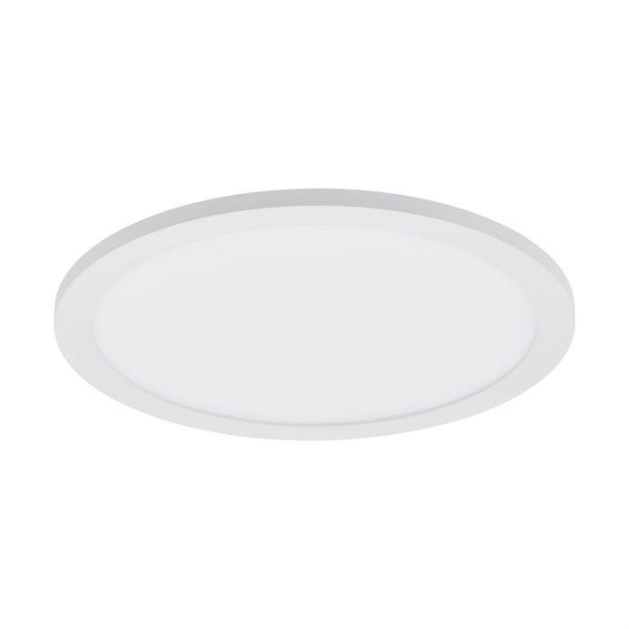 Plafoniera Sarsina, LED, metal/plastic, alb, 45 x 5 x 45 cm