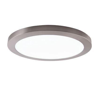 Plafoniera Wimille II, LED, plastic/metal, 33 x 1.9 x 33 cm