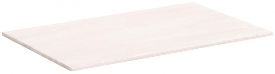Set de 2 polite pentru dressing, lemn, albe