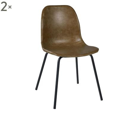 Set de 2 scaune Barnaba, 45x45x81.5cm