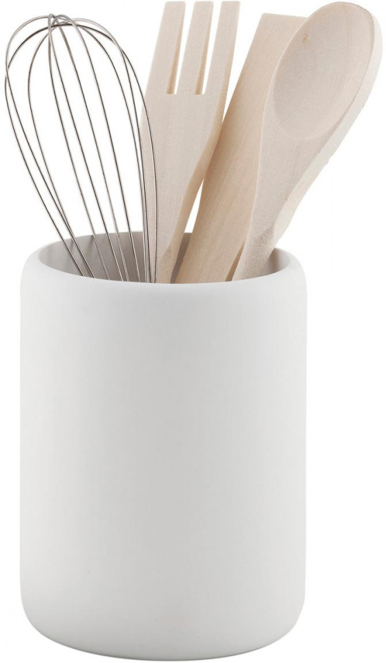 Set de 5 ustensile de bucatarie Botta, metal/lemn chilipirul-zilei.ro