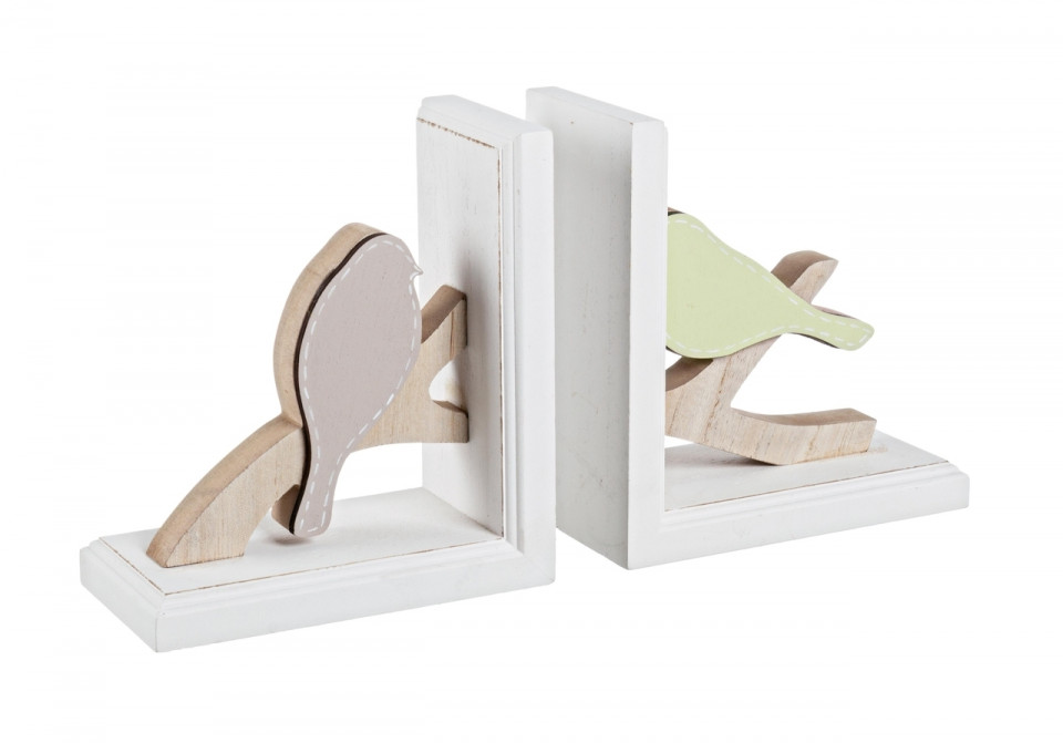 Set opritoare de carti Arbol, lemn, 34 x 18.5 cm