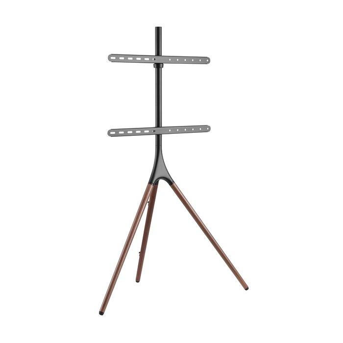Suport TV Carlie, metal/lemn, 88 x 139 x 45 cm