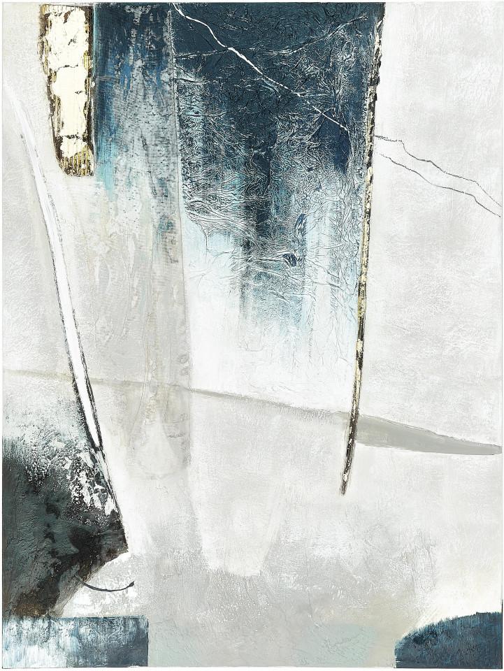 Tablou Blue I, panza, 90 x 118 x 4 cm