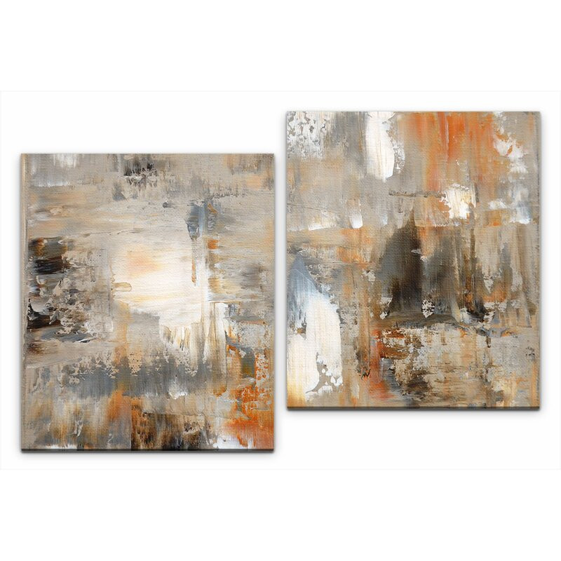 Tablou canvas Abstract Painting, 80 x 120 x 3 cm