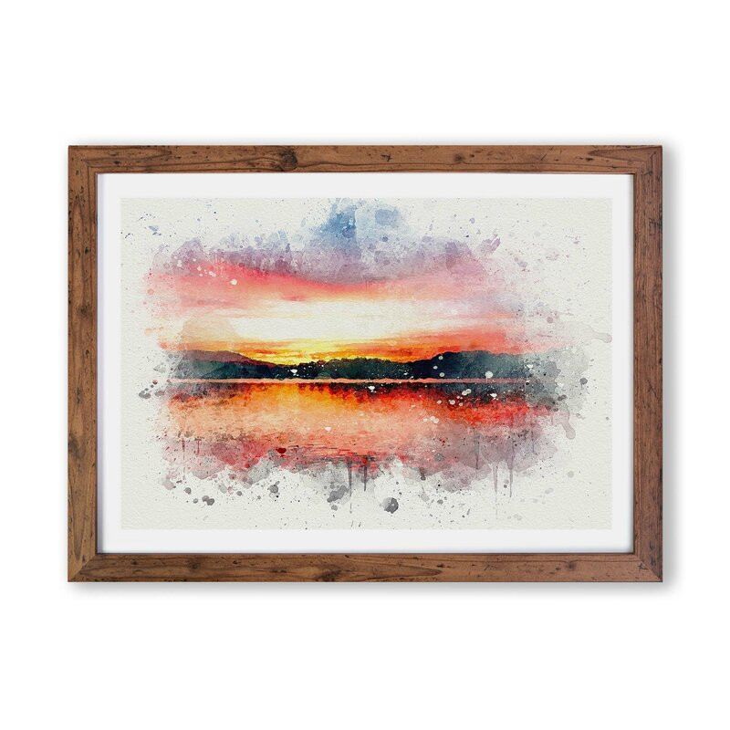 Tablou Sunset Over Lake Windermere, 62 x 87 cm chilipirul-zilei 2021