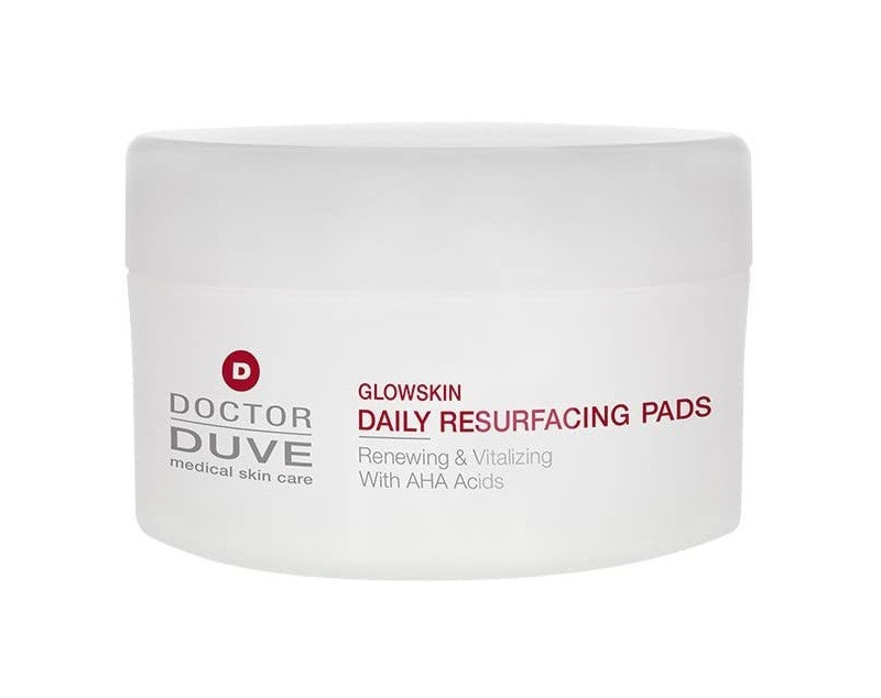 Tampoane faciale Doctor Duve Glowskin daily resurfacing pads 2021 chilipirul-zilei.ro