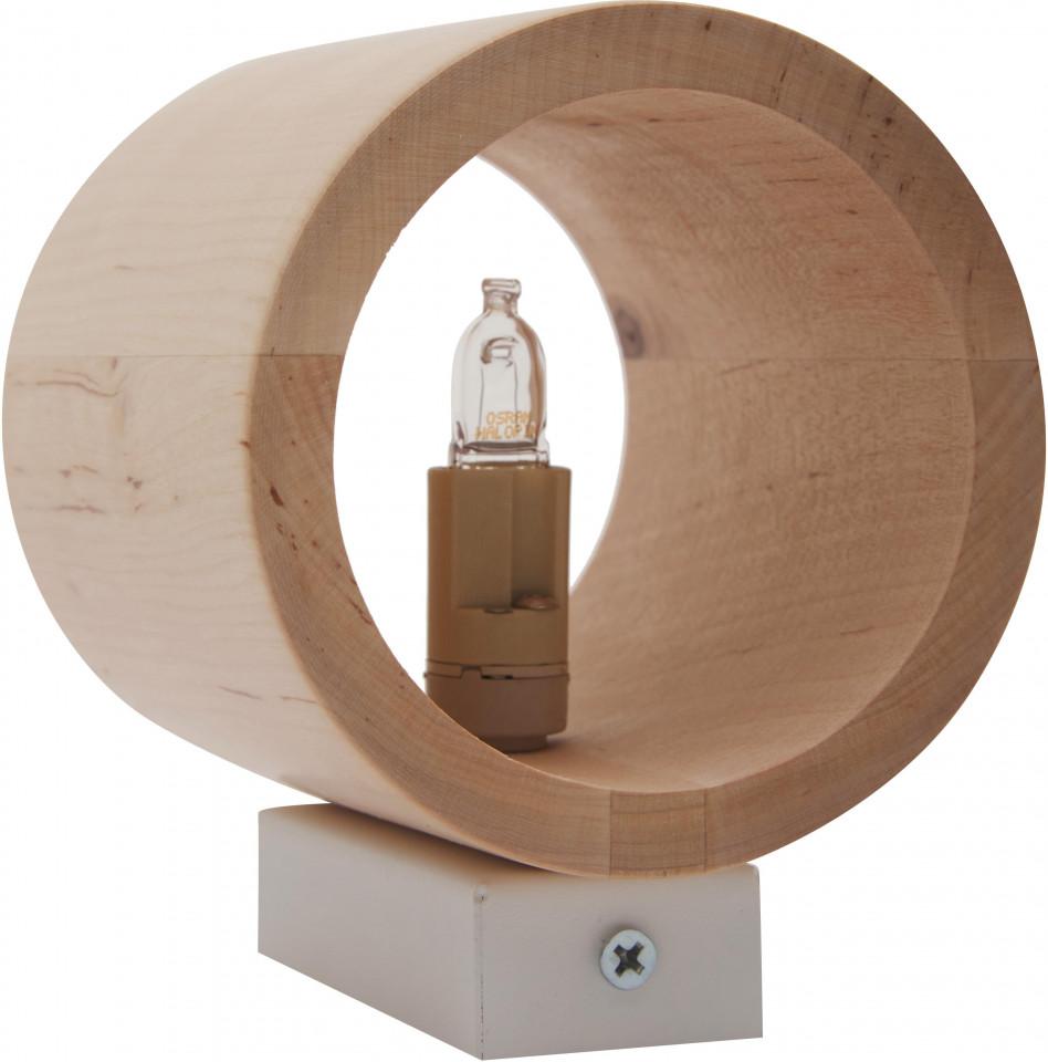 Aplică Roda din lemn, 10 x 12cm imagine 2021 chilipirul zilei