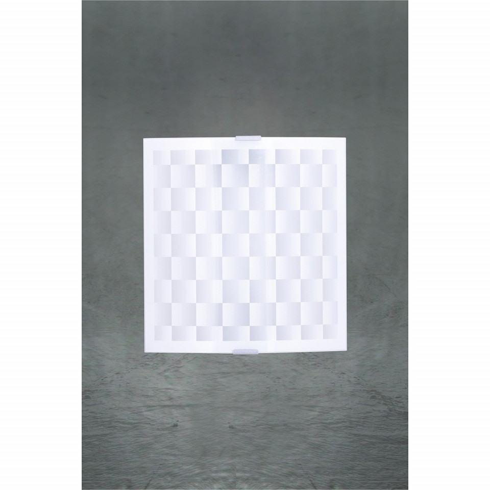 Aplica Scacchi, metal/sticla, 25 x 25 x 9 cm imagine 2021 chilipirul zilei